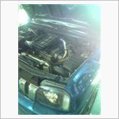JB23W80PSターボ、等長エキマニ、インタークーラー取り付けの画像