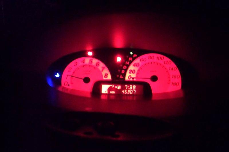 後期スピードメーター移植