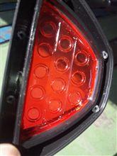 F1風リアランプの点灯化