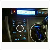 ウィッシュのエアコンパネル・LED打ち替えの画像