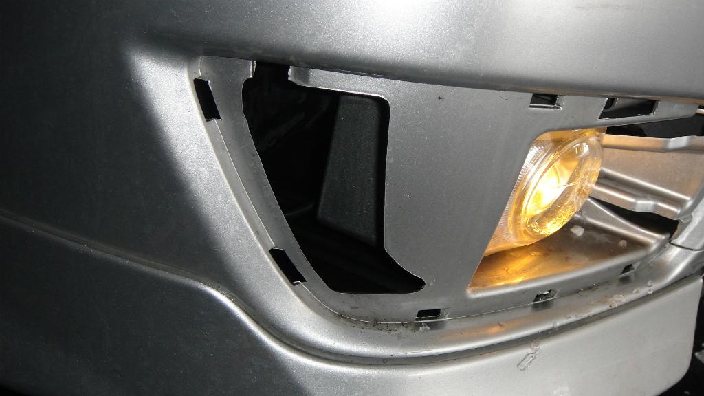 フォグランプ光軸調整