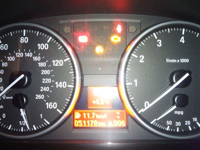 エンジン警告灯が消えない→リセット