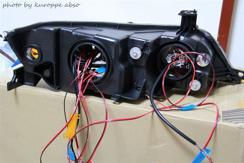 RB1・2 ヘッドライト4連プロ目化⑰