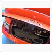 GT3エンジンオイル交換の画像
