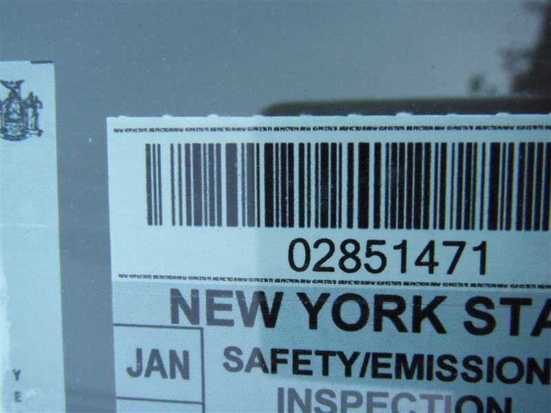 2019 Inspection Sticker Ny Vilmoitabbo Tk