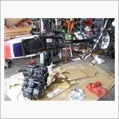 CBXのエンジン積み替え3