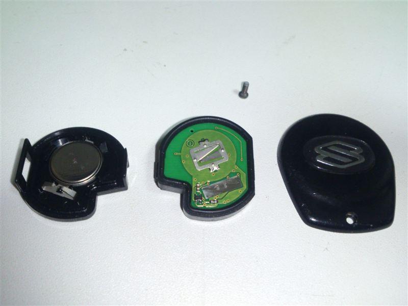キーレス 電池交換