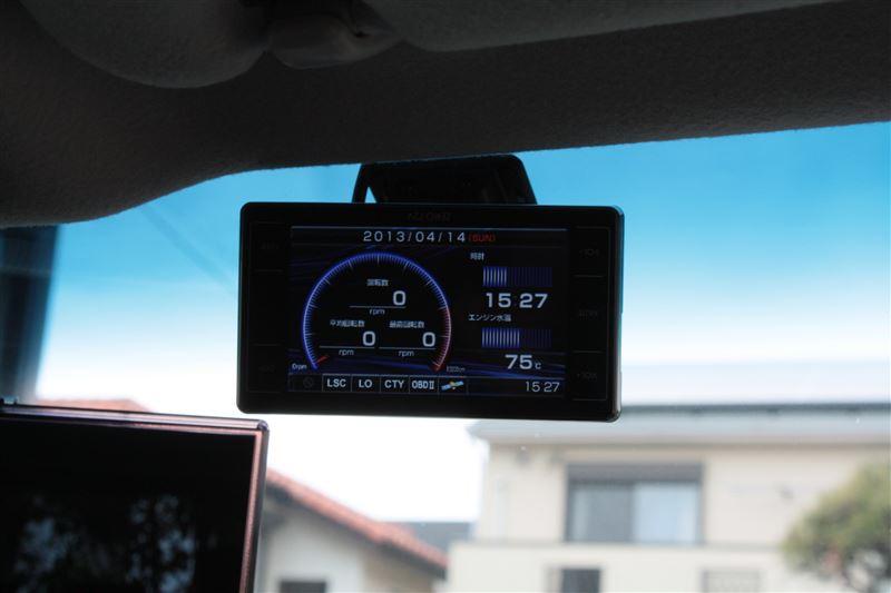 GPSレーダ COMTEC ZERO 72Vの取り付け