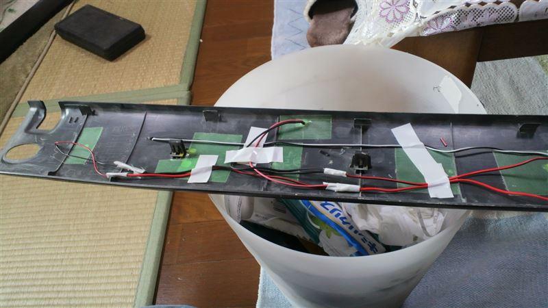 LEDテープがもったいないので、やっぱリベンジしてみました…。