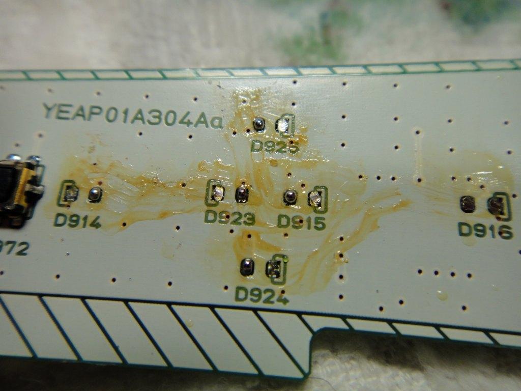 【C26】パナソニックCN-L800SED LED打ち換え③