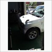JB23Wエンジン点検の画像