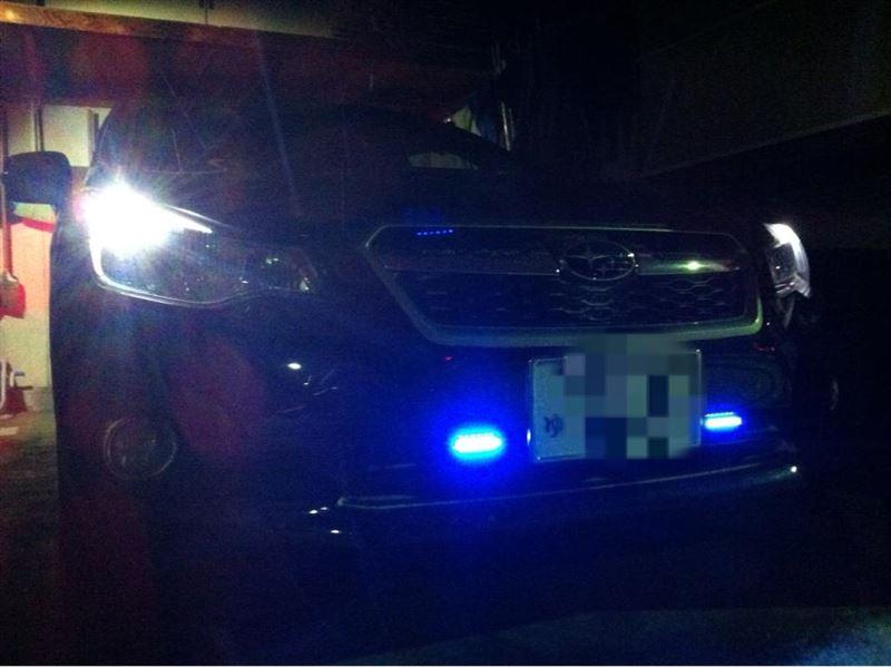 LEDデイライト装着