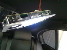 5シリーズ セダン 後部座席ルームランプLED化のカスタム手順2