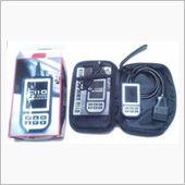 大陸製BMW専用故障診断機が届いたので、試しに診断してみました。<br /> 結論から言うと、値段の割りに高機能な診断機でお勧めです。<br /> <br /> 箱を開けると、黒いナイロンバッグが入っており、内容物は<br /> <br /> 1.診断機本体<br /> 2.USB-USBminiケーブル(PC接続用)<br /> 3.CD-ROM(ソフトウェアupdate時のPC接続ソフト)<br /> 4.取扱説明書(英語)<br /> <br /> 本体はコンパクトですが、しっかりした造りで一安心。<br /> 会社のHPもあり、案外まともな製品です。