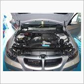 BMW 車内清掃 除菌消臭の画像