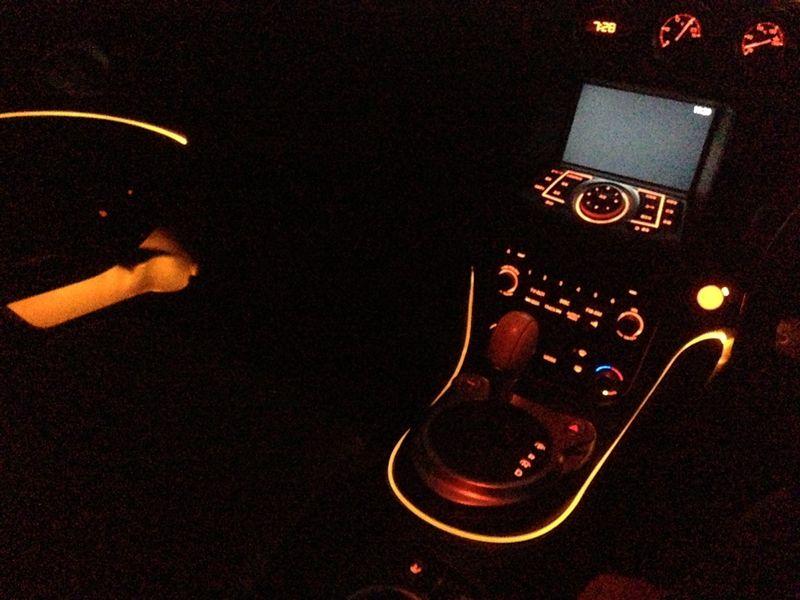 光ファイバーで間接照明