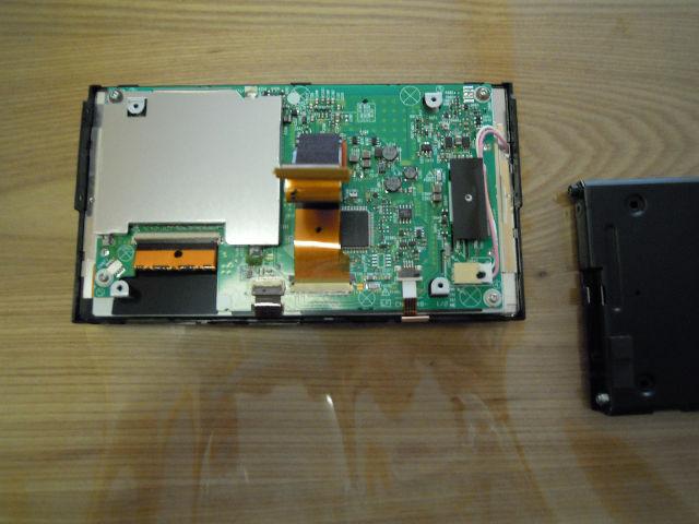 ナビ(楽ナビAVIC-HRZ88相当)のタッチパネルを交換