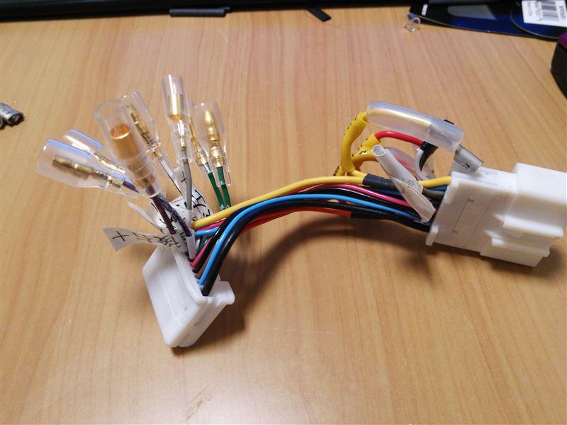 電源ケーブルの引き回しと、ラインケーブルの加工(その2)