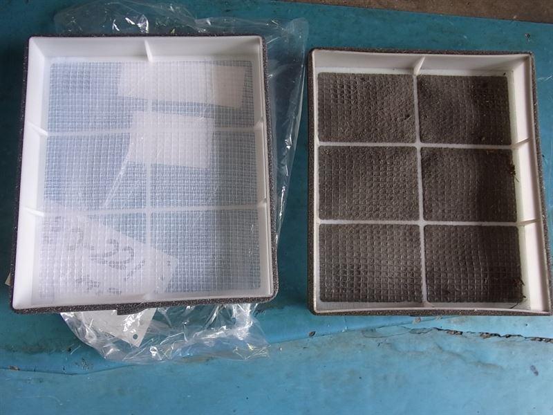 エアコン除菌消臭EVIDIS 光触媒施工