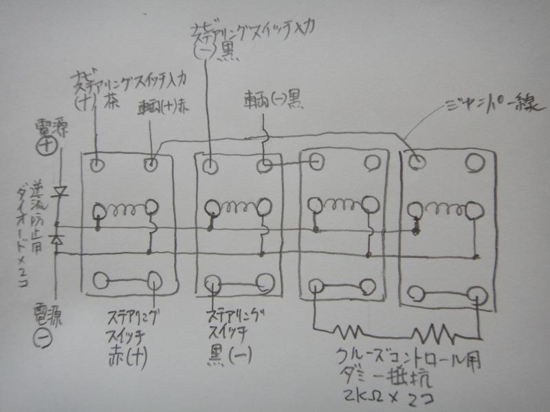 【C26】純正ステアリングスイッチでナビを操作する①