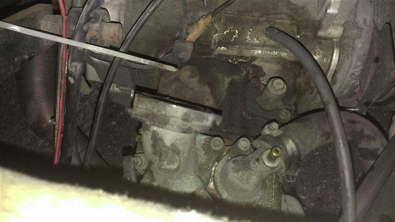 エンジン側サーモスタット「取り付け」