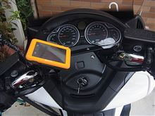 シルバーウイングGT<600>ABS シルバーウイングにカーナビ取り付けのカスタム手順1