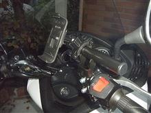 シルバーウイングGT<600>ABS シルバーウイングにカーナビ取り付けのカスタム手順2