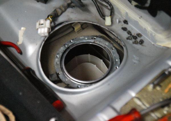 燃料ポンプとインジェクター交換