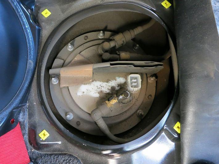 燃料ポンプ&フィルター交換
