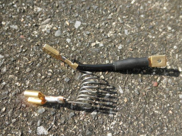 ヒーターファンスイッチ修理