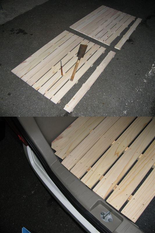 アルトを禁断の車中泊仕様に・・・ (アルトAT)