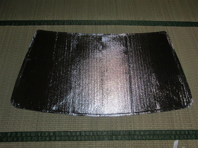 フロントガラス用サンシェード製作 (アルトAT)