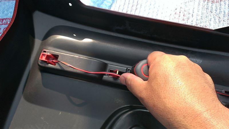 N BOXカスタム用リヤバンパーに交換