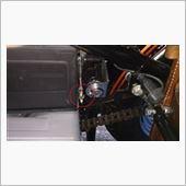 TEC-MATE アキュメートミニバッテリーメンテナーの移設