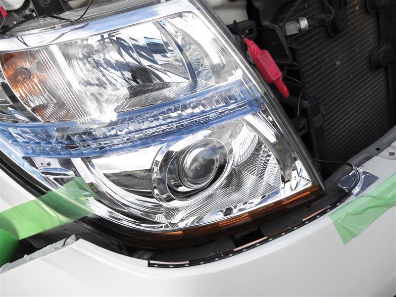 ウインカー連動 INTEC流れる側面発光LEDテープ・・・アンバー