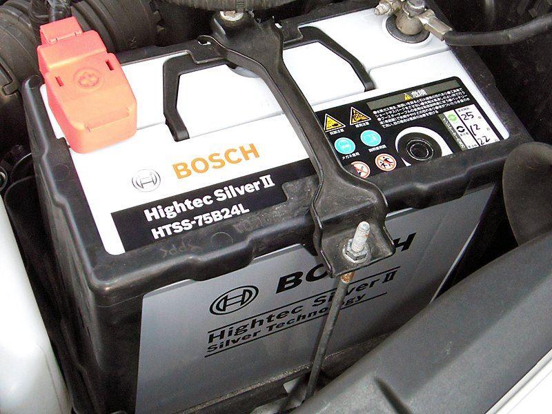 BOSCHのバッテリーはビンビンだぜ!