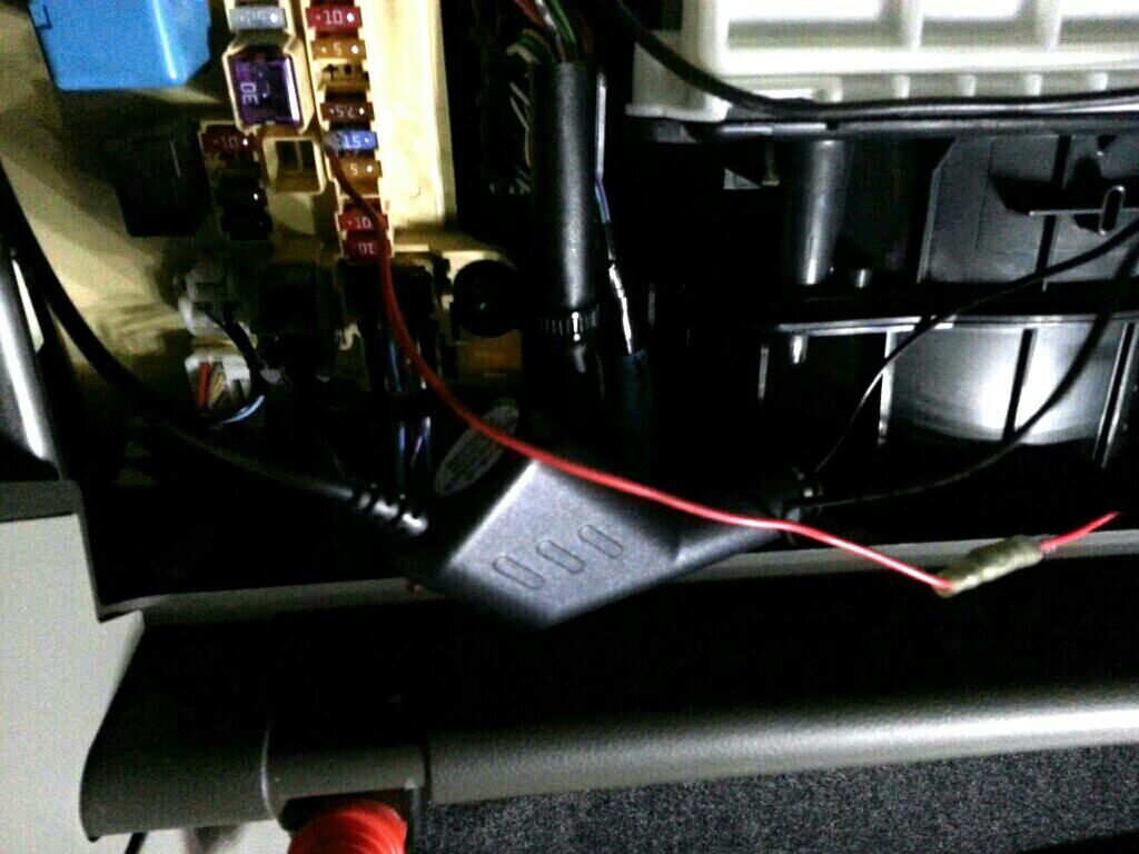 LA600S ドライブレコーダー設置