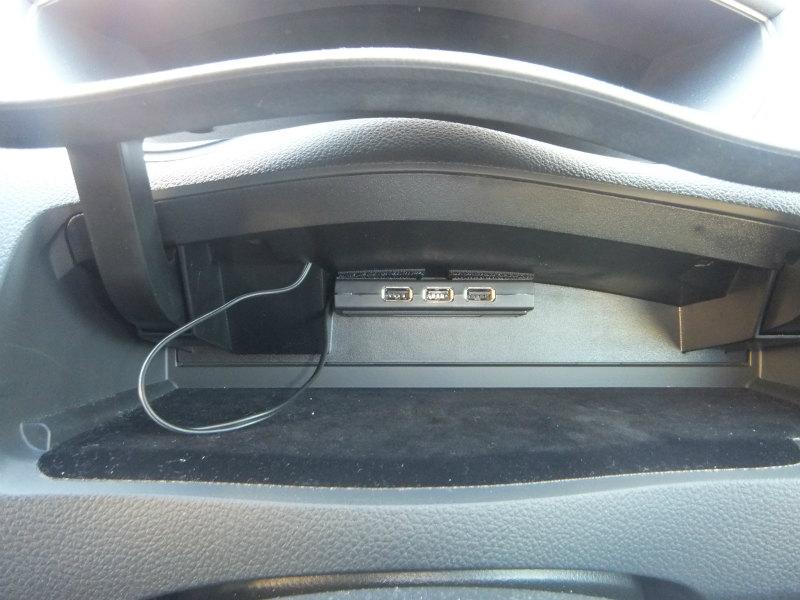 USB充電ハブの設置③