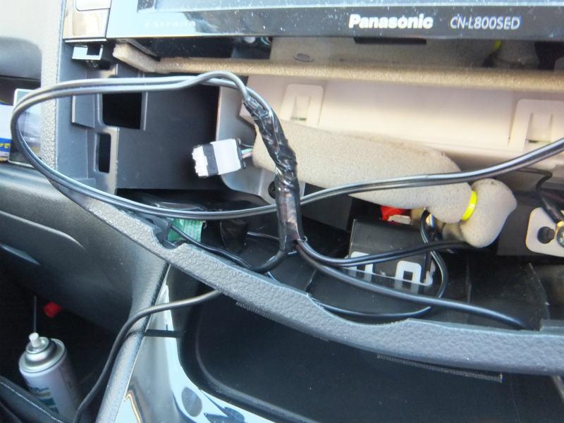 USB充電ハブの設置④