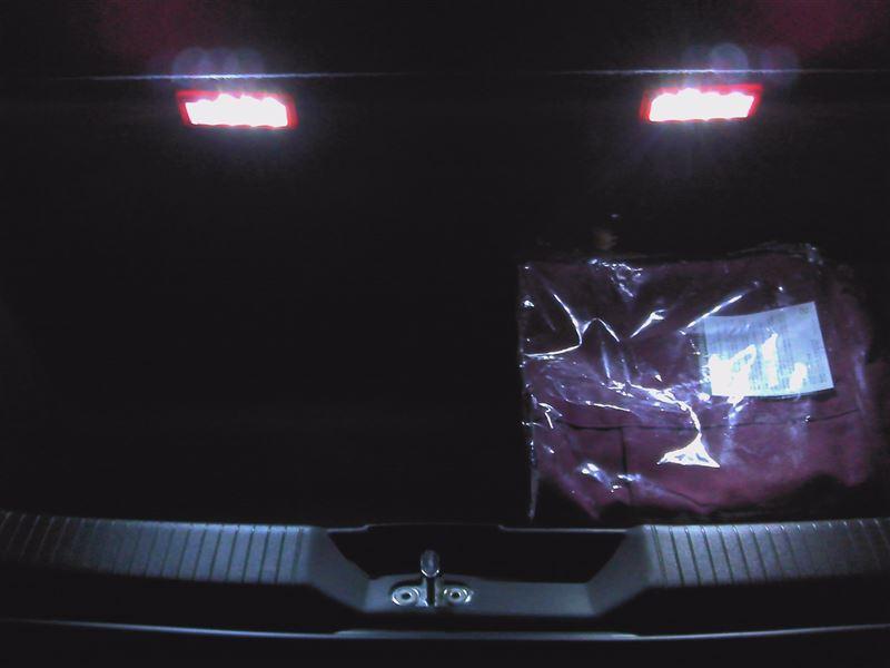 真っ暗なトランクを明るくしてみよう