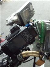 AX-1 レーダー探知機取付ステー変更のカスタム手順1
