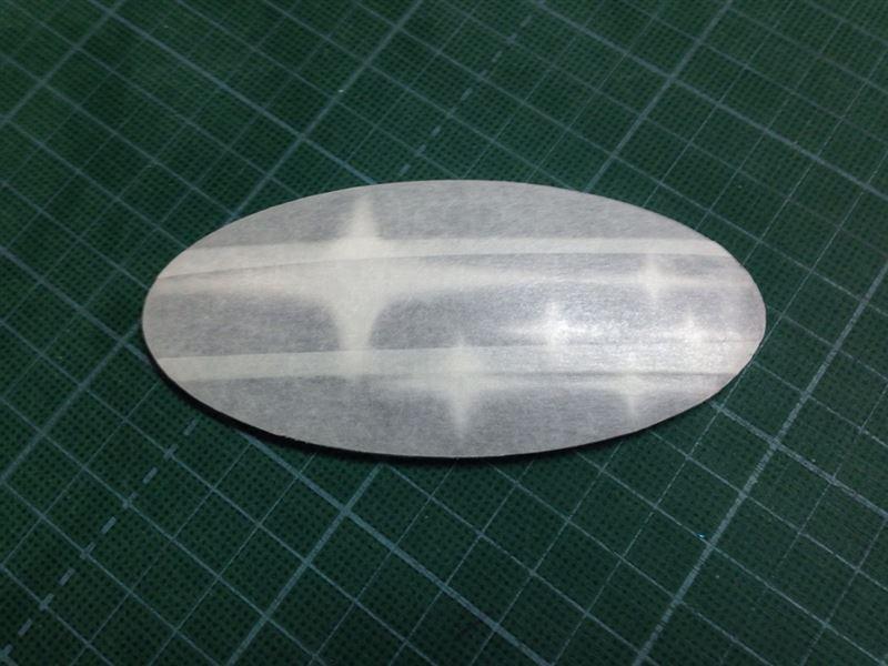SUBARU オーナメント塗装(リア)