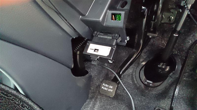 ルームミラー型レーダー探知機、ドライブレコーダーの取り付け