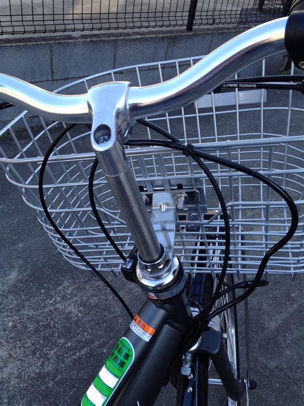 自転車 ハンドル 上げ 方
