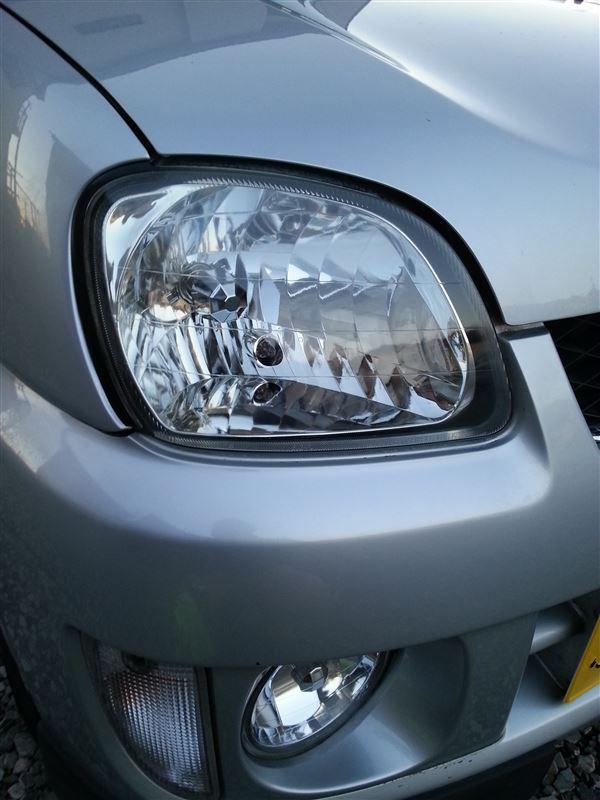 ヘッドライト磨き KURE LOOX