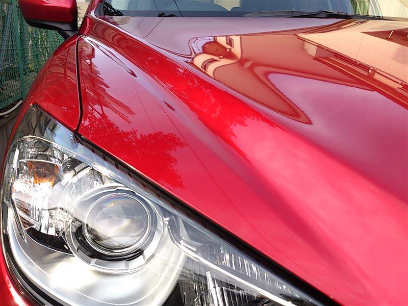 CX-5初めての洗車&コーティング