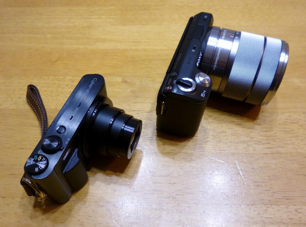 ソニーミラーレスカメラ(^^)