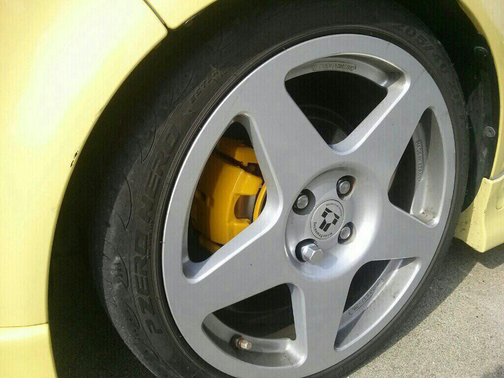 ブレーキキャリパー塗装(お試し)
