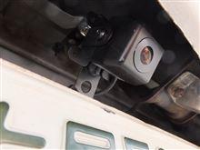 インプレッサ スポーツワゴン WRX バックカメラ取付のカスタム手順1