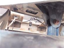 インプレッサ スポーツワゴン WRX バックカメラ取付のカスタム手順2